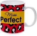 Printland Miss Perfect Mug - Multicolor, Pack Of 1
