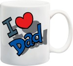 Awwsme Plates & Tableware Awwsme Love Dad Bone China Mug