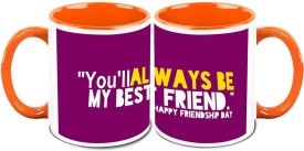 HomeSoGood You Will Always Be My Friend (2 s) Ceramic Mug