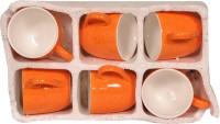MKI MKI088 Ceramic Mug (90 Ml, Pack Of 6)