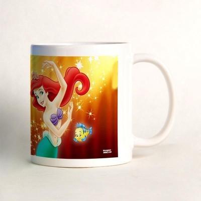 Bluegape Little Mermaid Mug Orange, Pack of 1