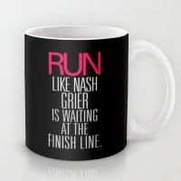 Astrode Run Like Nash Grier Is Waiting At The Finish Line Ceramic Mug (325 Ml)