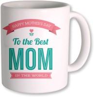 Photogiftsindia To The Best Mom Ceramic Mug (325 Ml)