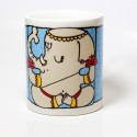 Chumbak Ganesha Mug - Multi Colour, Pack of 1