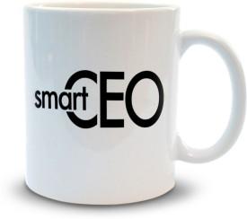 Shoppers Bucket Smarty CEO Coffee Ceramic Mug