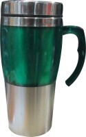 Blue Birds Travel Stainless Steel Mug (500 Ml)