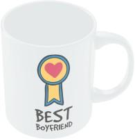PosterGuy Best Boyfriend Valentine's Day Coffee Mug (White, Pack Of 1)