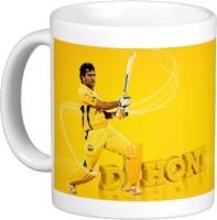 Exoctic Silver Chennai Super King IPL Series XXX 037 Ceramic Mug (300 Ml)