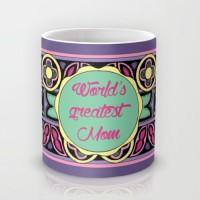 Astrode World'S Greatest Mom Ceramic Mug (325 Ml)