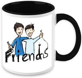 HomeSoGood Friends Forever Ceramic Mug