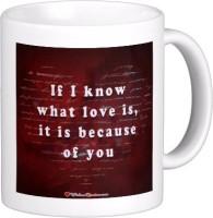 Exoctic Silver Love Quotes 005 Ceramic Mug (300 Ml)