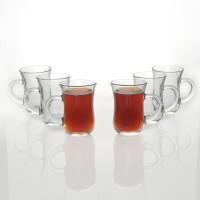 Pasabahce 55411 Glass Mug (145 Ml, Pack Of 6)