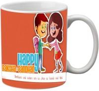 Mesleep Love Brother 68 Ceramic Mug (325 Ml)