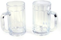 Questioned KTZB18 Beer  Glass Mug (300 Ml, Pack Of 2)