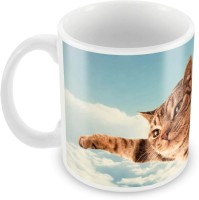 Posterboy The Cat Ceramic Mug (350 Ml)