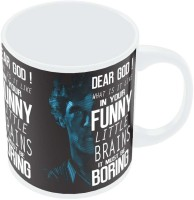 PosterGuy Dear God! What Is It Like In Your Funny Little Brains It Must Be Boring BBC TV Series Inspired Ceramic Mug (280 Ml)