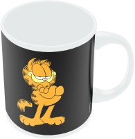 PosterGuy Garfield Attitude Funny Quote Coffee Mug (White, Pack Of 1)