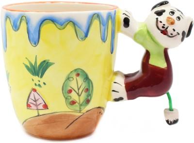 Qian Qian Animal Party  Porcelain Mug