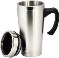 Gift Studio Travel Silver Mug (475 Ml)