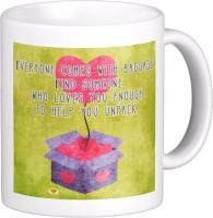 Exoctic Silver Love Quotes 024 Ceramic Mug (300 Ml)