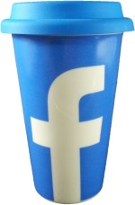 Gifts And Style Plates & Tableware Gifts And Style Facebook Ceramic Mug