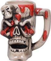 Lifestyle-You Creepy Cool Pirate Skull Beer IG53B Ceramic Mug (500 Ml)