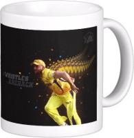 Exoctic Silver Chennai Super King IPL Series XXX 017 Ceramic Mug (300 Ml)