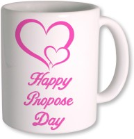 Photogiftsindia Happy Propose Day Coffee Mug (White, Pack Of 1)