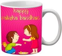 Mesleep Rakhi Quotes 71 Ceramic Mug (325 Ml)