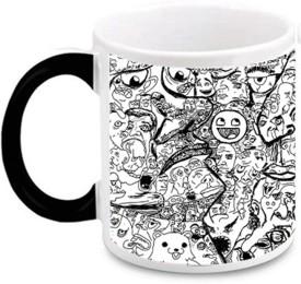 Aurra Puzel art Ceramic Magic Ceramic Mug