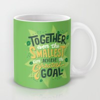 Astrode Together Even Smallest Can Achieve The Greatest Goal Ceramic Mug (325 Ml)