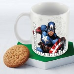Posterboy Plates & Tableware Posterboy The first Avenger Officially Licensed Ceramic Mug