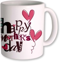 Photogiftsindia Happy Mothers Day With Heart Balloon Ceramic Mug (325 Ml)