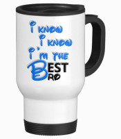 Tiedribbons Best Gifts For Friend Travel Stainless Steel Mug (350 Ml)
