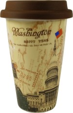 Gifts And Style Plates & Tableware Gifts And Style Washington Coffee Ceramic Mug