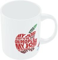 PosterGuy Nasscom 10000 Startups Steve Jobs Apple Quote Motivational Ceramic Mug (300 Ml)