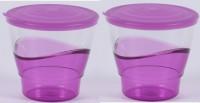 Tumbler Tupperware Eleganzia Tumbler With Seal Plastic Mug (290 Ml, Pack Of 2)