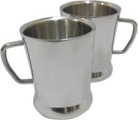 Marvel Spice Stainless Steel Mug (200 Ml, Pack Of 2)