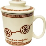 Gifts And Style Plates & Tableware Gifts And Style Brown monk Ceramic Mug