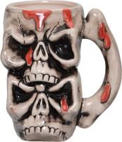 Lifestyle-You Creepy Cool Pirate Skull Beer IG53C Ceramic Mug (500 Ml)