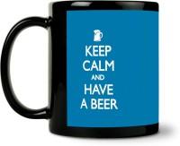 ShopMantra Keep Calm Beer Ceramic Mug (300 Ml)