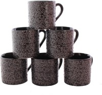 Aarzool Cup14wer Ceramic Mug (200 Ml, Pack Of 6)