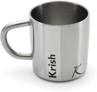 Hot Muggs Me Classic  - Krish Stainless Steel Mug (200 Ml)