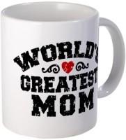 Giftsmate Greatest Mom Mug (White, Pack Of 1)