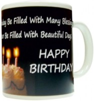 Fantaboy General Quote Gift For Birthday With Beautiful Day Ceramic Mug (325 Ml)
