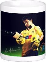 Exoctic Silver Chennai Super King IPL Series XXX 040 Ceramic Mug (300 Ml)