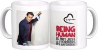 Exoctic Silver Salman Khan Quotes X004 Ceramic Mug (300 Ml)
