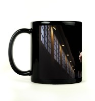 Shoprock Cute Messi Mug (Black, Pack Of 1)