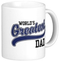 Giftsmate Worlds Greatest Dad Mug (White, Pack Of 1)