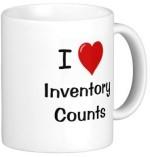 Fantaboy Plates & Tableware Fantaboy I Love Inventory Count Ceramic Mug